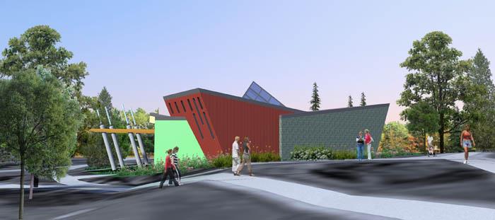 Concept, Borden Park Pavilion